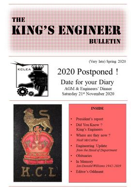 King's Engineer Bulletin No. 8