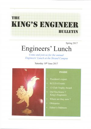 King's Engineer Bulletin No. 2